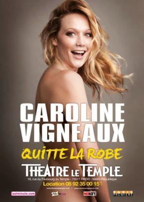 « Caroline Vigneaux quitte la robe » : quand Caroline se met ànu