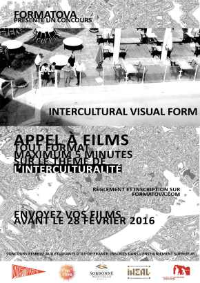 Appel à film pour le concours Intercultural VisualForm
