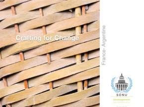 « Crafting for change », le projet étudiant de solidarité internationale #1