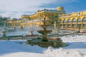 Les thermes deBudapest