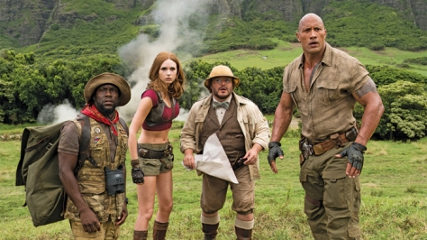 JUMANJI: WELCOME TO THE JUNGLE.