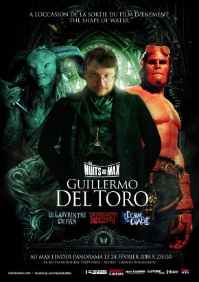 Une Nuit au Max avec Guillermo DelToro