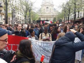 Étudiants en grève, facs engalère