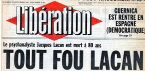 Barthes, Foucault, Lacan et autres plaques d'amiante à l'université